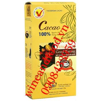 Cacao bột nguyên chất không đường Vietnamcacao 150g