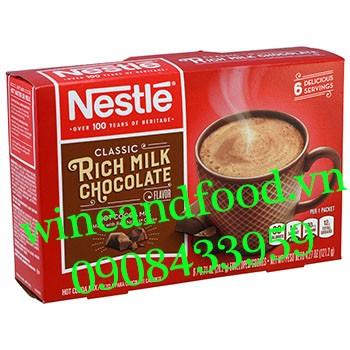 Socola bột Rich Milk Chocolate Classic Nestle 121g