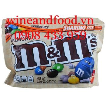 Kẹo Socola M&M nhân Hạnh Nhân Sharing Size 263g7
