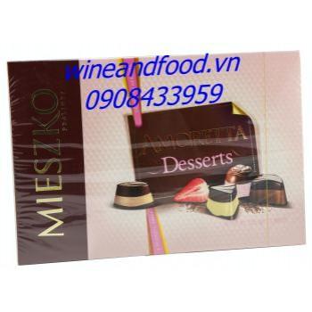 Socola Amoretta Desserts 325g