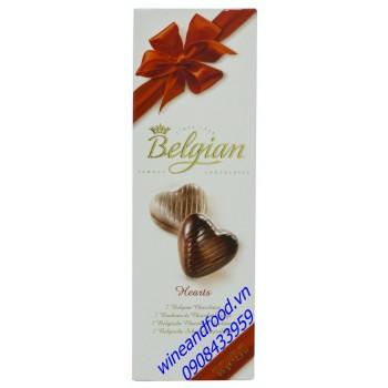 Socola Belgian Hearts 65g
