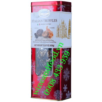 Socola Cocoa Caramel Italian Truffeeles Delicia 450g
