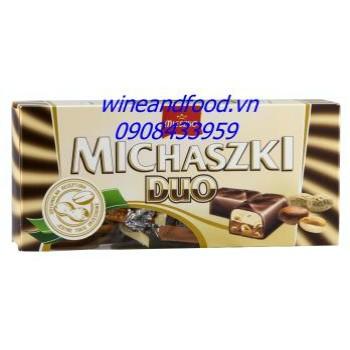 Socola đậu phộng Michaszki Duo Mieszko 220g