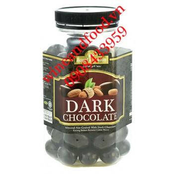 Socola đen hạnh nhân Royal de Dolton 500g