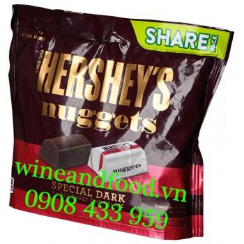 Socola đen Hershey's Nuggets Special Dark Share Pack 289g