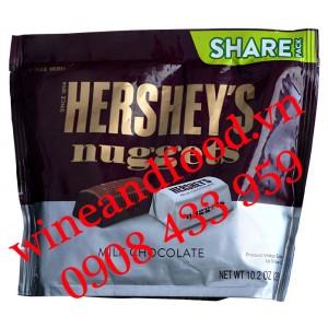 Socola sữa Hershey's Nuggets Share Pack 289g
