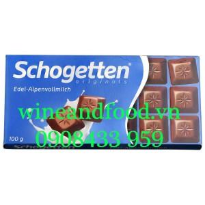 Socola sữa Schogetten Edel Alpenvollmilch Originals 100g