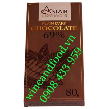 Socola đen Astair Marc Moynot 69% 100g