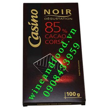 Socola đen Casino Noir 80% 100g