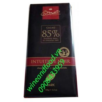 Socola đen Emoti 85% cacao