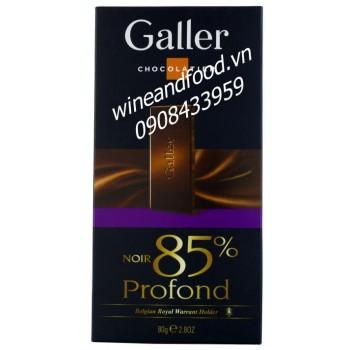 Socola đen Galler 80g