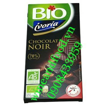 Socola đen Ivorina bio 70% 100g