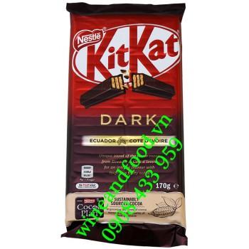 Socola Đen Kitkat Nestle thanh 170g