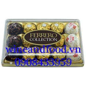 Socola Ferrero Collection hộp 15 viên 172g