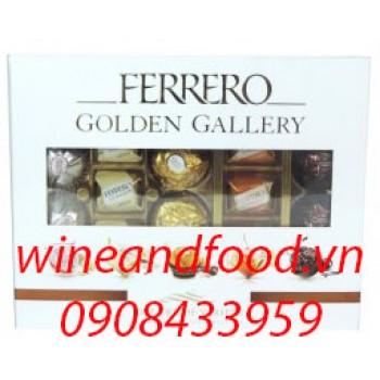 Socola Ferrero Golden Gallery 216g