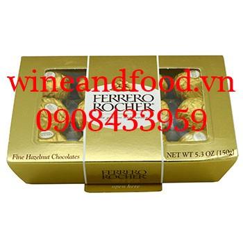 Socola Ferrero Rocher hộp giấy 150g