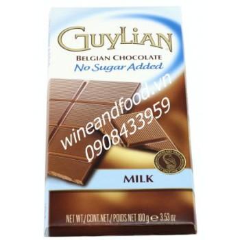 Socola sữa không đường Guylian 100g