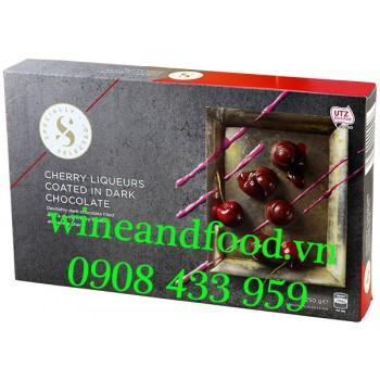 Socola Đen nhân rượu Cherry Specially Selected 250g