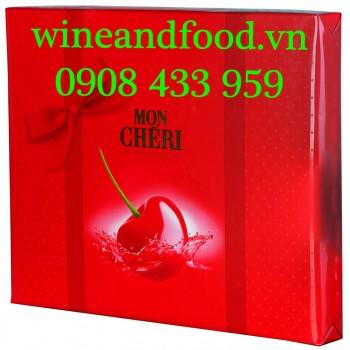 Socola nhân rượu Mon Cheri Piemont Kirsche 262g