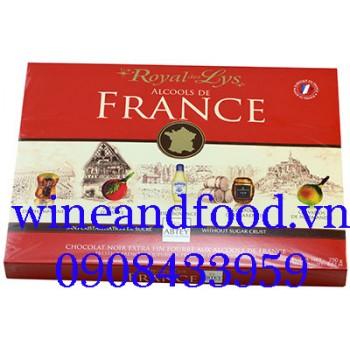 Socola rượu Abtey Royal de Lys Alcools de France 250g