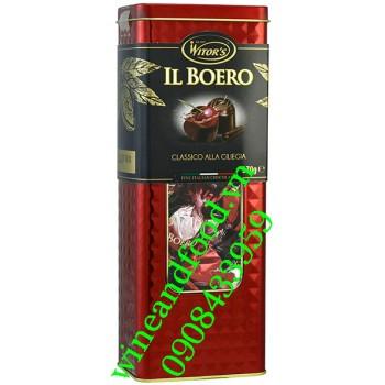 Socola rượu Cherry Il Boero Witor's hộp thiếc 370g