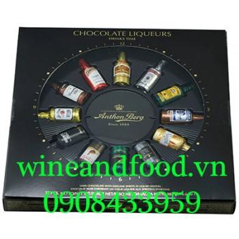 Socola rượu Drink Time Anthon Berg 187g