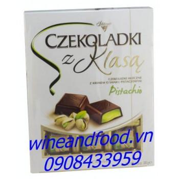 Socola rượu hạt dẻ cười Czekoladki Z Klasa 200g