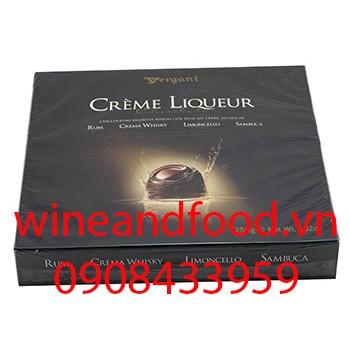 Socola rượu hỗn hợp Vergani 250g