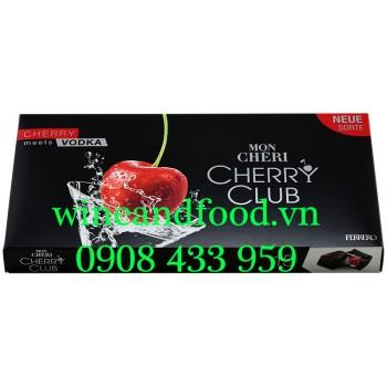 Socola rượu Mon Cheri Ferrero Cherry Club Vodka 157g