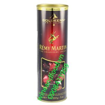 Socola rượu Remy Martin Goldkenn 200g