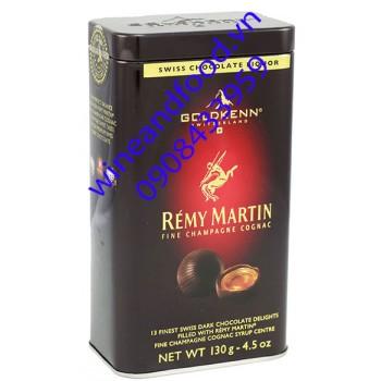 Socola rượu Remy Martin Goldkenn hộp 130g