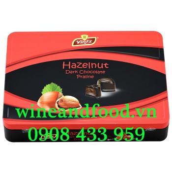 Socola đen nhân kem Hạt Dẻ Vintz 200g