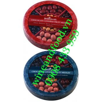 Socola nhân trái cây Dilettante Chocolates 907g
