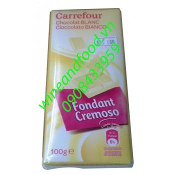 Socola trắng Carrefour gói 2 thanh (100g/thanh)