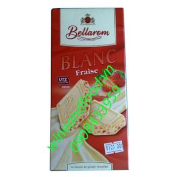 Socola trắng dâu Bellarom 200g