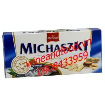 Socola trắng đậu phộng Michaski Mieszko 220g