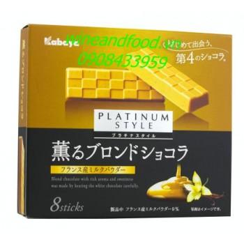 Socola trắng Kabaya Platinum Style 8 thanh