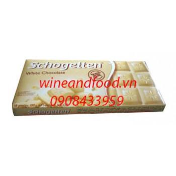 Socola trắng Schogetten 100g