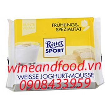 Socola trắng yogurt Ritter Sport 100g