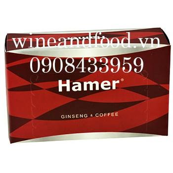 Kẹo sâm Hamer Gingseng & Coffee 30 viên giá rẻ nhất