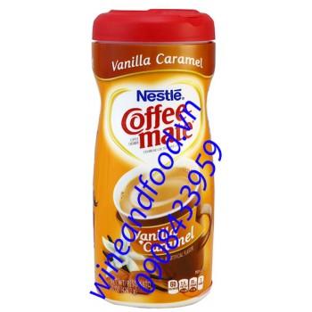 Bột pha cà phê Coffee Mate vani Caramel 425g