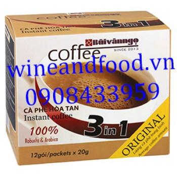 Cà phê Bùi Văn Ngọ hòa tan 3 in 1 Original 240g