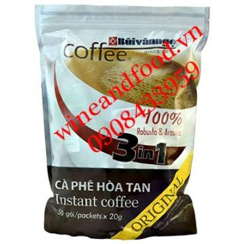Cà phê Bùi Văn Ngọ hòa tan 3in1 Original 1kg