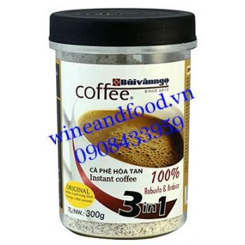 Cà phê Bùi Văn Ngọ hòa tan 3in1 Original hũ 300g