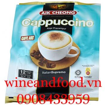 Cà phê Cappuccino Aik Cheong 300g