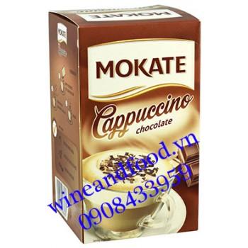 Cà phê Cappuccino chocolate Mokate 144g