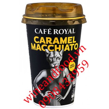 Cà phê Caramel Macchiato Cafe Royal 230ml