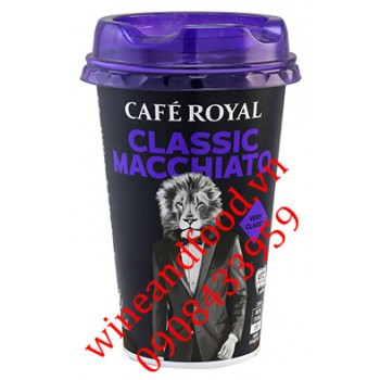 Cà phê Classic Macchiato Cafe Royal 230ml