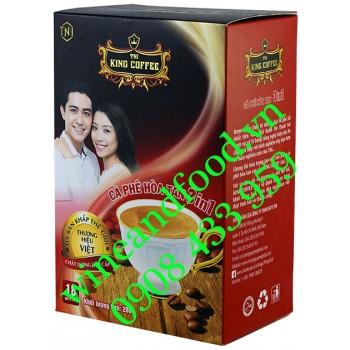 Cà phê hòa tan 3in1 King Coffee hộp 288g