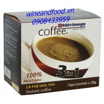 Cà phê hòa tan Bùi Văn Ngọ Robusta Arabica 240g